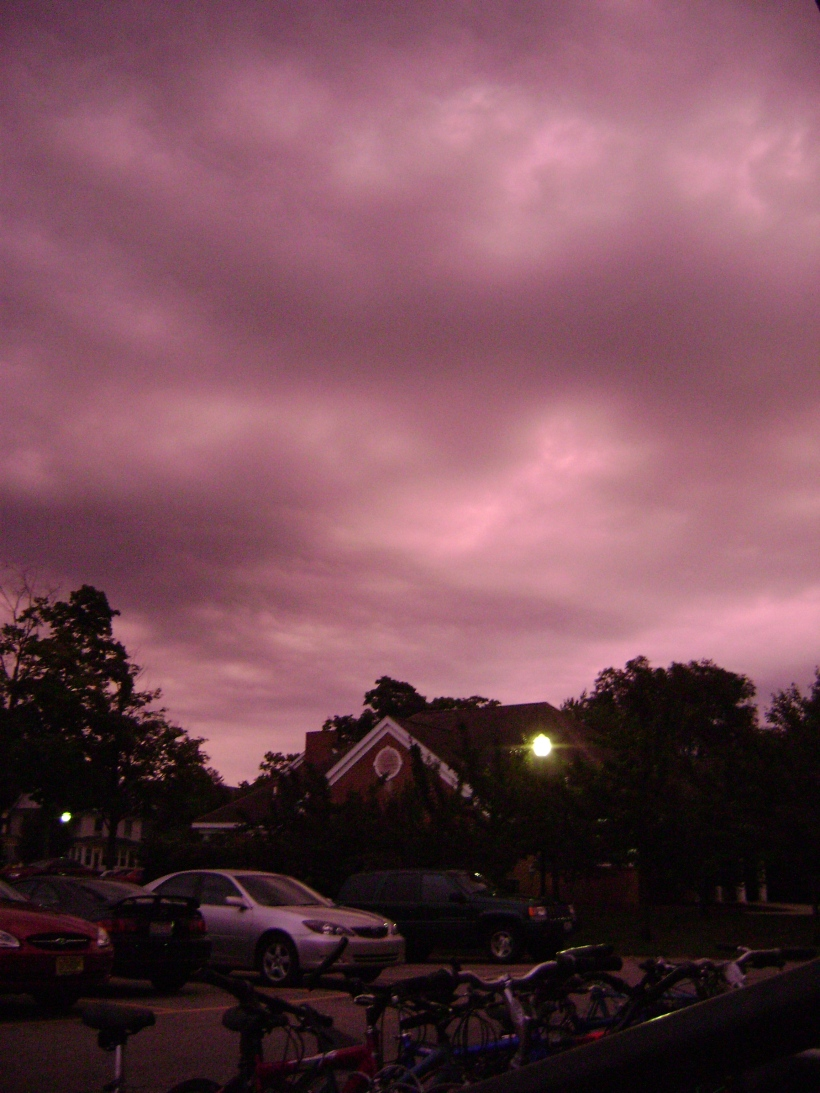 A pink night in Holland, MI 2007