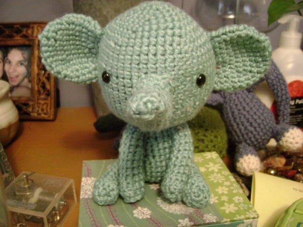 Amigurumi Elphie elephant